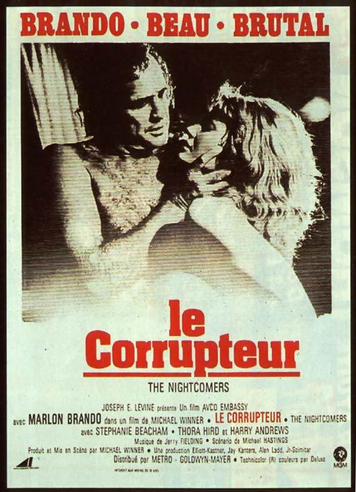Le Corrupteur affiche